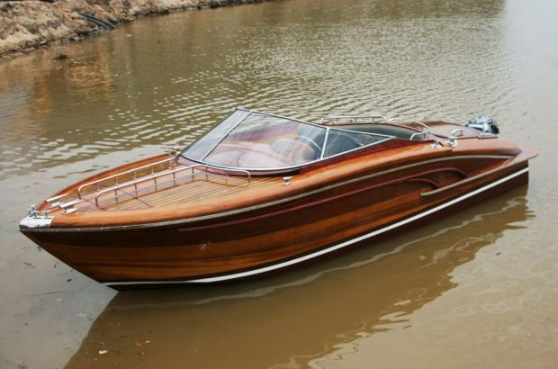 Wooden Speed Boats free model boat building plans